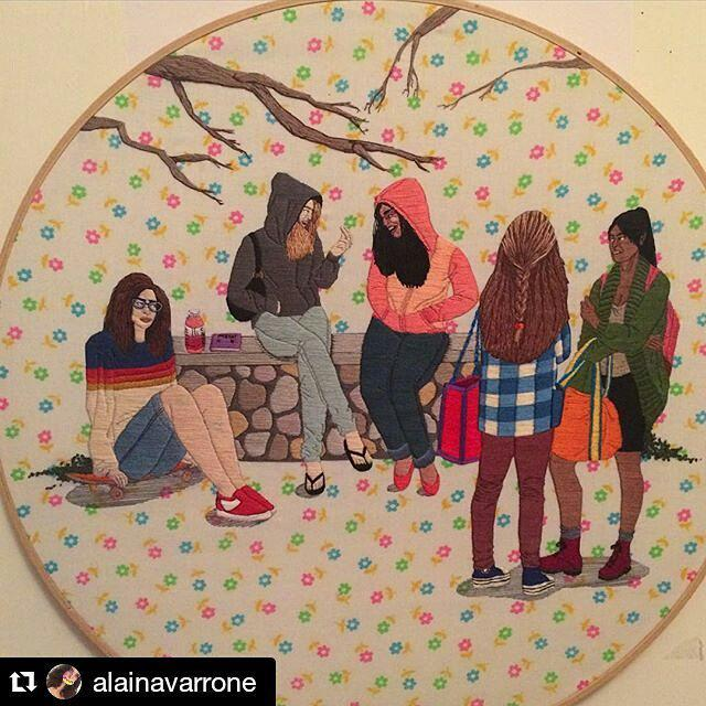 @alainavarrone rocks my world with her #handembroidery every time. #mrxstitch http://t.co/myQEfh1Jkz http://t.co/WanSVl0Ezp