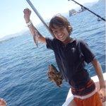 Buenas noches, sueñen con este épico pescador. http://t.co/a5RTMtCEKQ