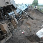 #TrainTragedy 9 minutes before the incident 2 trains passed on same track: Rly Board Chairman http://t.co/CEYax76QPh