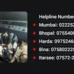 Helplines reg the train tragedy in Madhya Pradesh... http://t.co/LeY4pTzPp8