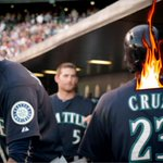 #KCA #VoteJKT48ID Mariners: During his 15-game hitting streak, ncboomstick23 is batting .433 with 4 2B and 10 HR.   http://t.co/LPaHrcMqhF