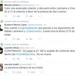 .@CuervoTinelli y @MatiasLammens festejaron más que un campeonato jugar con #Boca sin Tévez. Muy chiquitos, siempre. http://t.co/LYF1DsRwU4