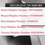 HELPLINE NUMBERS: Railways has set up helpline numbers for twin train accidents in #madhyapradesh http://t.co/DUHhVuDMT0