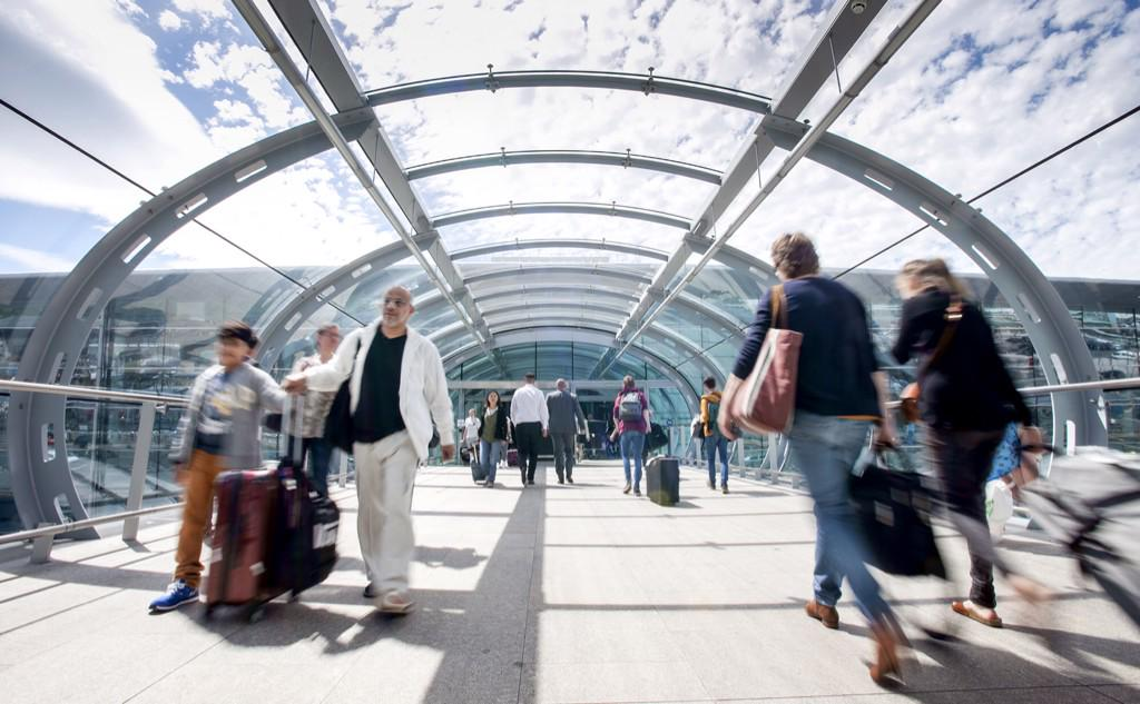 We were one of the fastest growing airports in Europe in the first half of this year.
