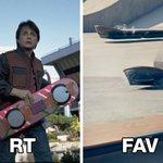 Lexus представил свой летающий скейт. Какой круче? Ховерборд Марти - RT #LexusHover - FAV http://t.co/aZmNylQJjG