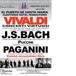 Concierto de música clásica en #ElPuerto en @HotelMonasterio sábado 8 de agosto a las 21:30 h. Entrads en Recepción http://t.co/LVpAJbaMCj
