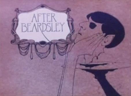 크리스 제임스의 단편 애니메이션 <비어즐리 이후> 에 나오는 장면들. 오브리 비어즐리가 현대에 부활해 20세기의 끔찍한 것들을 체험한다는 내용입니다. http://t.co/4Z9be55FHK