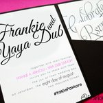Guys ito na po yung invitation card namin ni Yaya Dub.:) @mainedcm @EatBulaga #YaKie #AlDubBakitDiTotohanin RT! http://t.co/w9cDVZ1CAQ