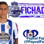Ya es oficial Fayçal Fajr nuevo jugador del @RCDeportivo a falta del reconocimiento médico. http://t.co/lZPYh8j1ab