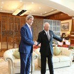 Secretary of State @JohnKerry met with Malaysian PM @NajibRazak in Putrajaya for a bilateral meeting. @USAsiaPacific http://t.co/DkqDYt0aw8