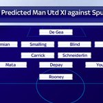 Will Depay, Schneiderlin and Darmian make their #MUFC debuts vs @SpursOfficial on Saturday? http://t.co/IClaqokdfa http://t.co/8s7rmATbA3