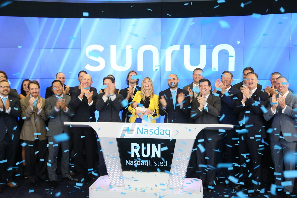Today is another step towards creating a planet $RUN by the sun. Thank you to our customers, employees & supporters. http://t.co/7nxApvbZhq