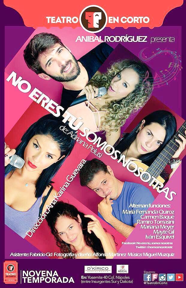 A una semana del estreno! Los esperamos! @TeatroEnCorto @somosnosotrastc @anibbal @AdrianaPelusi @AnaKarinaGE http://t.co/OeAIeTlHKd