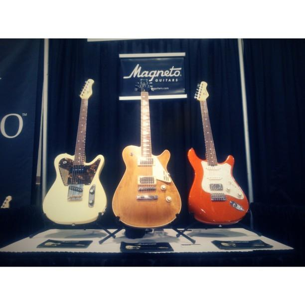 Magneto at Summer Namm 2015 Nashville we had a great time!#tbt #love #music #throwbackthursday http://t.co/ZyVyZfTv4B