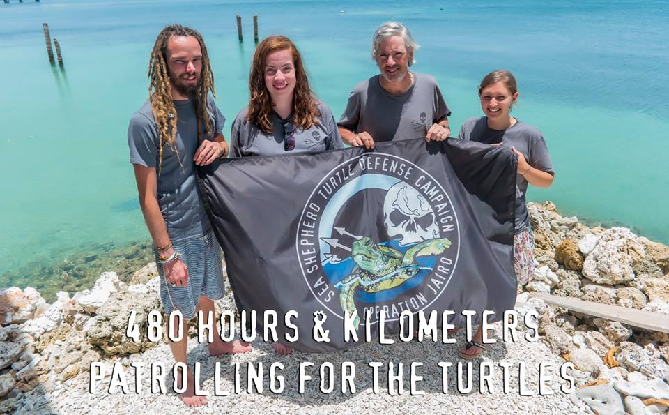 RT @SeaShepherd_USA: #UPDATE #OpJairo Milestone in Honduras: 3000+ eggs safeguarded. 480 hours & 480km (approx 298 miles) of beach patrols …