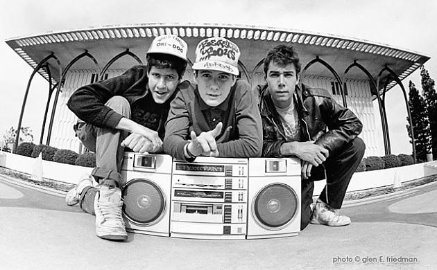 Happy Birthday, MCA! Adam Yauch would have been 51 today. Photo: Beastie Boys at LMU campus for their KXLU interview http://t.co/22MzcxRdp2