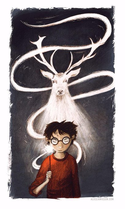 A late Happy Birthday sketch for Harry Potter and !!