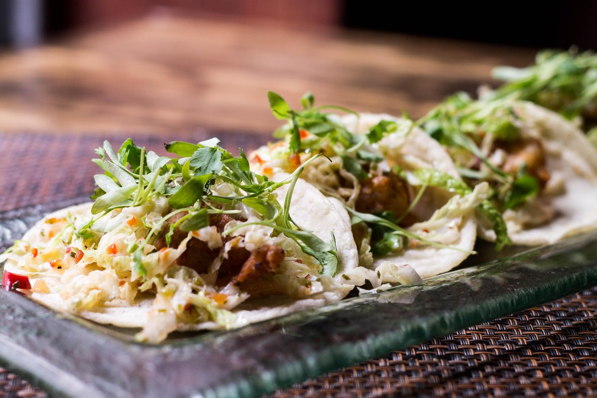 Check out August's #taco of the month supporting the @nokidhungry campaign :: a walleye summer delight! Come taste! http://t.co/VdeSNjHehD