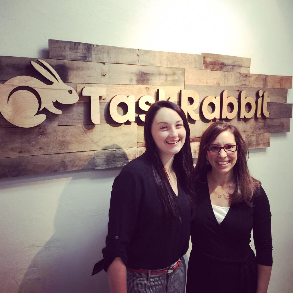 Happy to host incoming @Sweetbriaredu vixen @ameliaclairec at @TaskRabbit today ... It's a busy one! http://t.co/dFFlxuK4gu