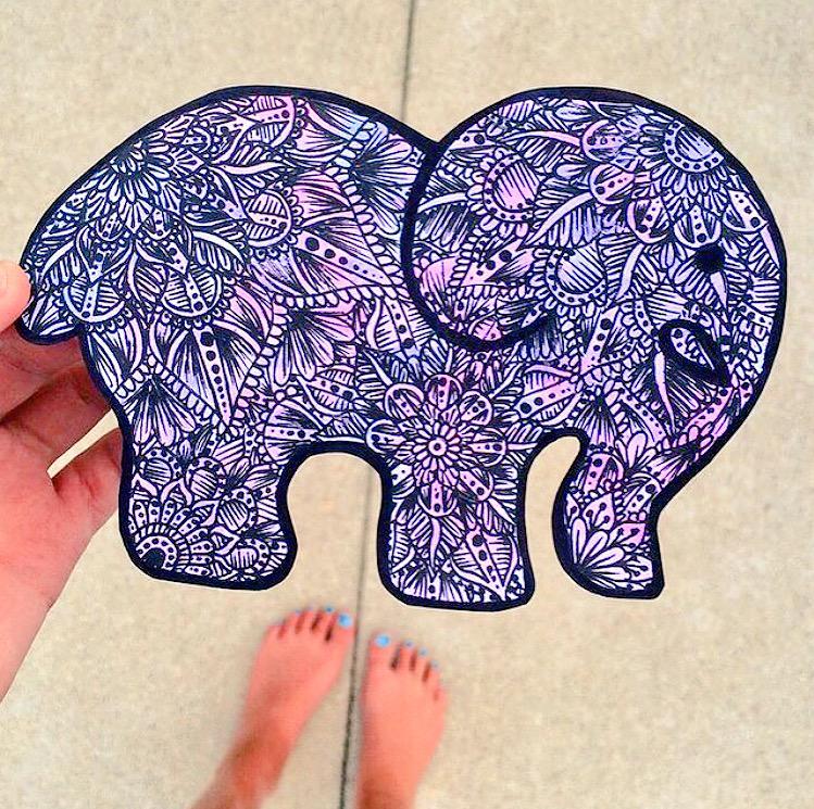 Tweet Us Your Ivory Ella Inspired Artwork Using