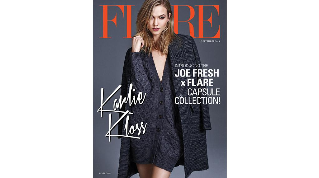 Fashion Flash: @karliekloss in our #JoeFreshxFLARE collection on the cover of @FLAREfashion http://t.co/e55Ma2liC9 http://t.co/0qPcOCM3et