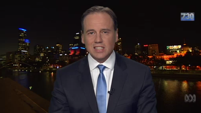 """Harsh but fair """"@newmatilda: """"There are no kind words that can be said about Greg Hunt"""" 