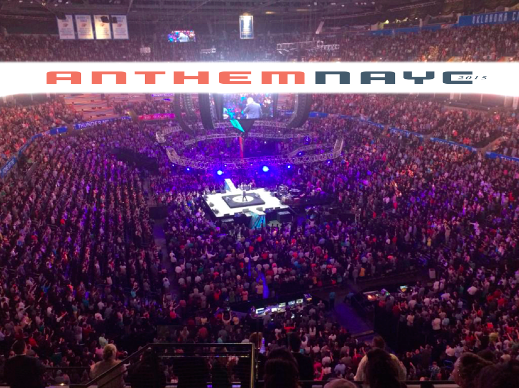 22,000 youth. Not a concert - just CHURCH. We DREAMED of this day when I was a teen. So PROUD of these kids. #NAYC15 http://t.co/SS0qQSMGpj