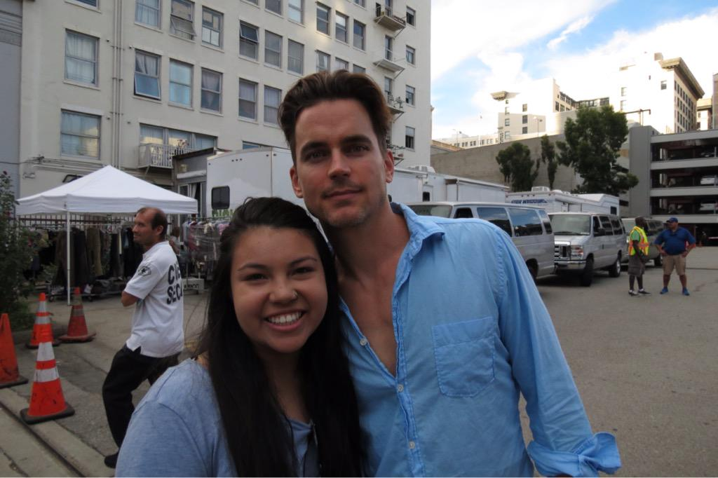 let's just take a moment to appreciate #MattBomer (@MattBomer) in all his glory. thanks for being so sweet! #AHSHotel http://t.co/72fhQhlhEF