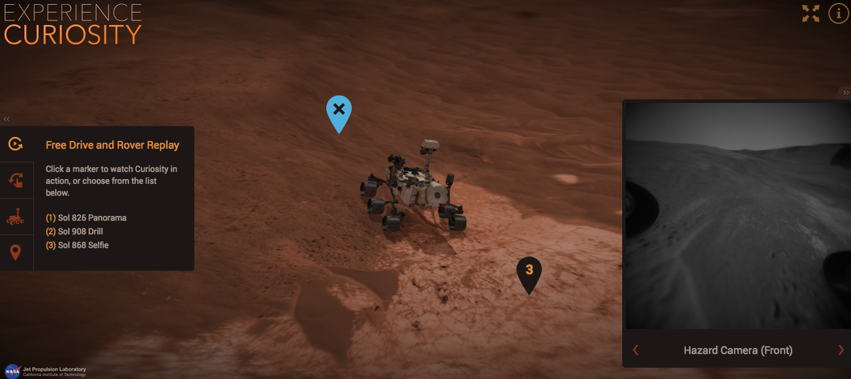 NASA uses Blender and @blend4web to release an interactive Curiosity experience: https://t.co/rXYwXq43At  #b3d http://t.co/9Xo9eGlF0z