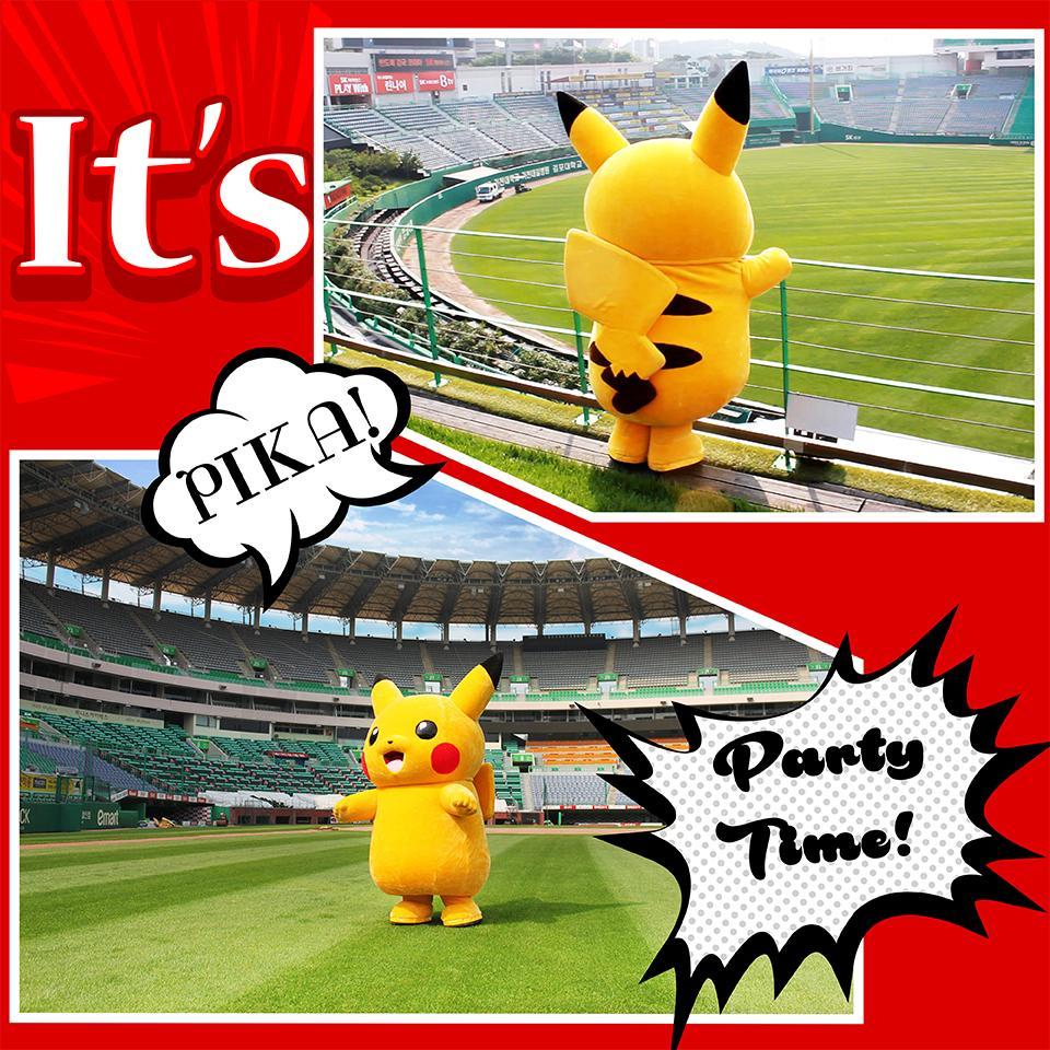 8월 8일(토), 귀여운 피카츄의 응원단 입단식이 진행됩니다.  여러가지 상품들을 만나볼 수 있는 포켓몬 팝업 스토어도 놓치지 마세요~! #PikachuXWyverns http://t.co/LdStF2zBkf