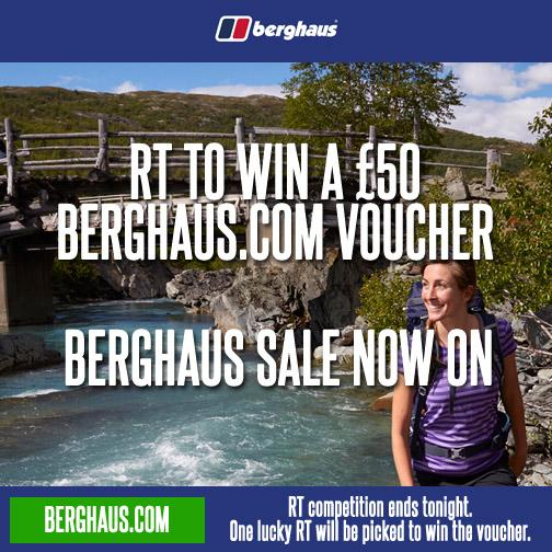 LAST CHANCE RT 2 #WIN a £50 @TheRealBerghaus voucher, Spring/Summer sale now on http://t.co/68HyHXd8ie win soon! http://t.co/CX5WOLZDUv