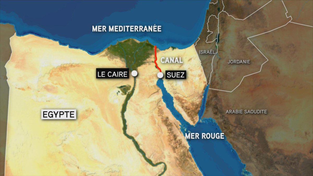 #Egypte > Le président Abdel Fattah al-Sissi a lancé la cérémonie d'inauguration du doublement du canal de Suez