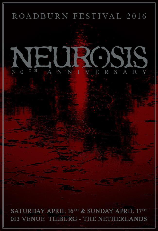 Roadburn 2016 Will Host Neurosis' 30th AnniversaryCelebrations! http://t.co/K57tu3rduc http://t.co/cMPy3An18o