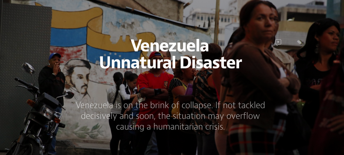 Venezuela is on the brink of collapse >> http://t.co/dagslVkBis #VenezuelaEnCrisis http://t.co/YGCRtcZkyh
