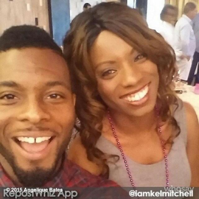 #Tbt The bro @Iamkelmitchell & I .  #Nickelodeon #AllThat #KelMitchell #AngeliqueBates #TvLegends http://t.co/kVWjhmhXIV