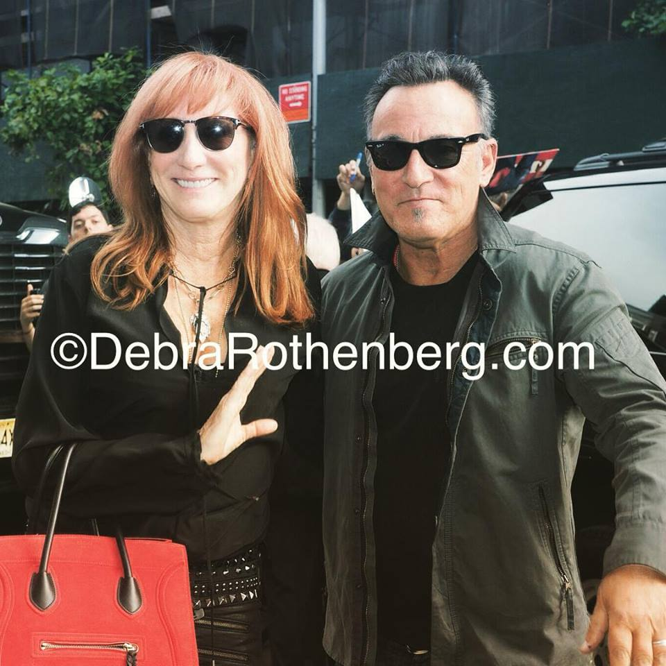 Bruce Springsteen and Patti Scialfa arrive at @TheDailyShow. Photo by Debra L. Rothenberg http://t.co/eYsaqLuGbw