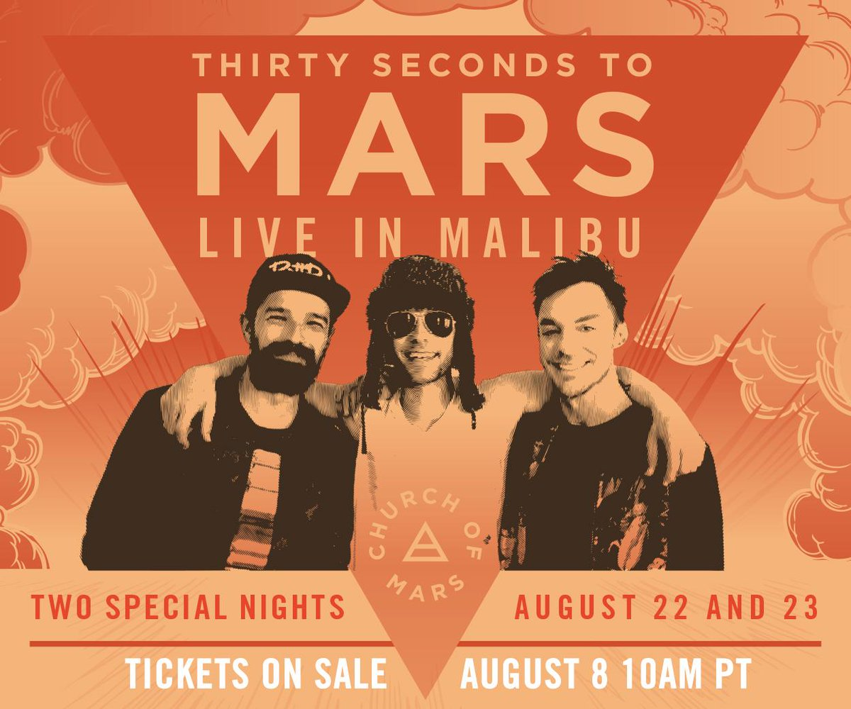 MISSED THE NEWS? TWO special shows in Malibu AUG 22 + 23! Tix on sale SAT, AUG 8 10AM PT: http://t.co/xsrD71mX52 http://t.co/saSZ5dVPZN