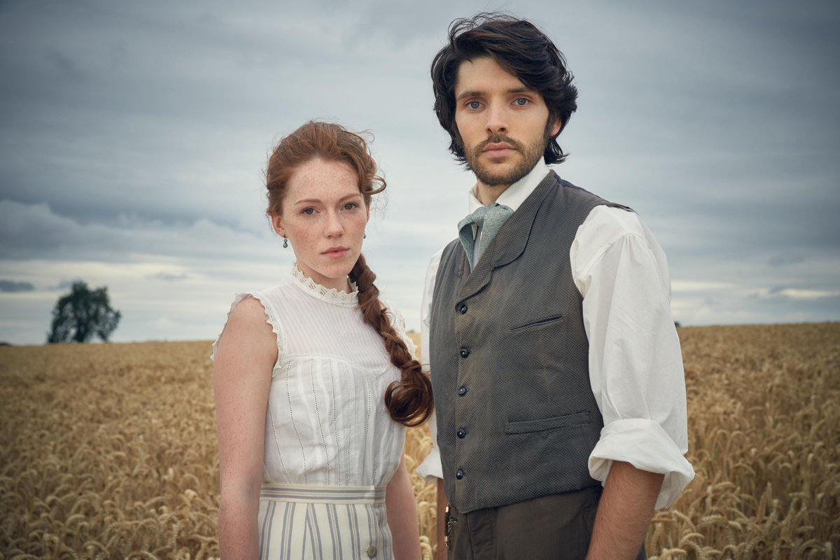 See a this great pic of Colin Morgan and Charlotte Spencer in new BBC1 drama announced The Living and the Dead... http://t.co/i47TcgKhHh
