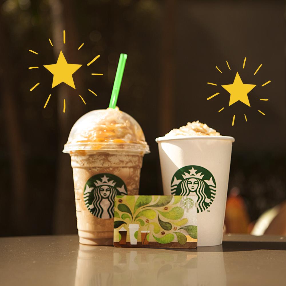 Membros do My Starbucks Rewards: nesse final de semana, ganhe estrelas em dobro comprando com seu Card registrado! :) http://t.co/MbqKhG2vRw