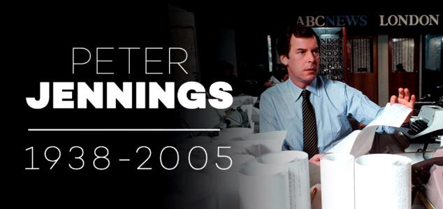Remembering Peter Jennings, who passed away 10 years ago today. http://t.co/frZNCELdXa http://t.co/tcjqWd8nKj