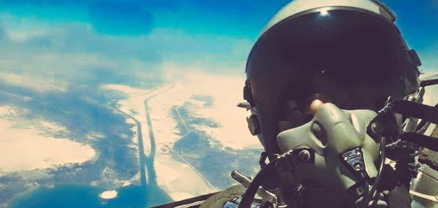 Despite flight regulations arguments & google earth still not updated with the New Suez Canal.This selfie might help http://t.co/eXagE6UJ5P