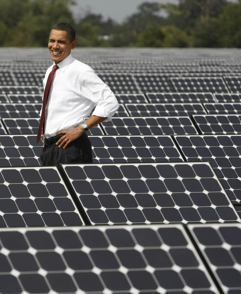 Obama has emotions with solar panels http://t.co/XpzdNKw8D6