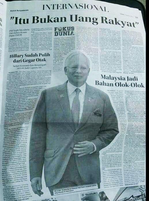 Dalam akhbar Indonesia - Bikin Malu! http://t.co/8NdFmTFMNI