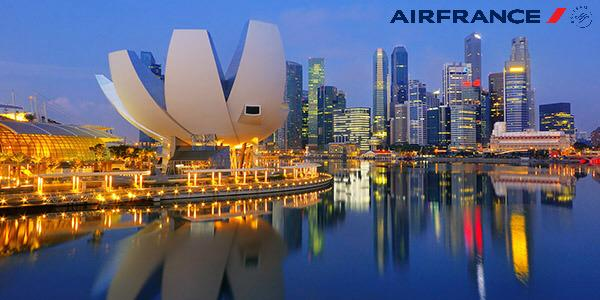 AIR FRANCE FLASH SALE! Fares to Singapore from £473 return from ABZ! T&Cs apply. Book by 10Aug