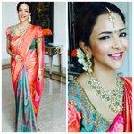 RT @shweta_malpani: @LakshmiManchu Chennai wedding. Sari #Tanya , jew #vasundaraexoticjewelery blouse @GaneshNallari #silk #pearls