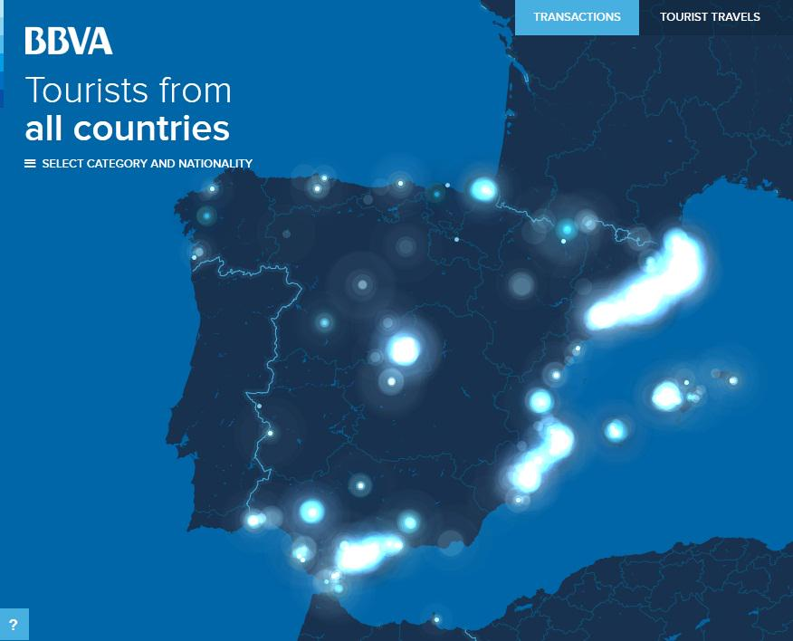 BBVA analiza el turismo en España a partir de las transacciones con tarjeta http://t.co/vav3br8zTS http://t.co/fES42kMp3c