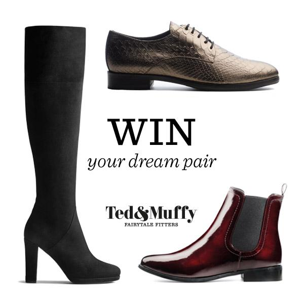 DUO has transformed! To celebrate, follow @tedandmuffy & retweet for the chance to win your dream boots or shoes #win http://t.co/CIQppTrwL2