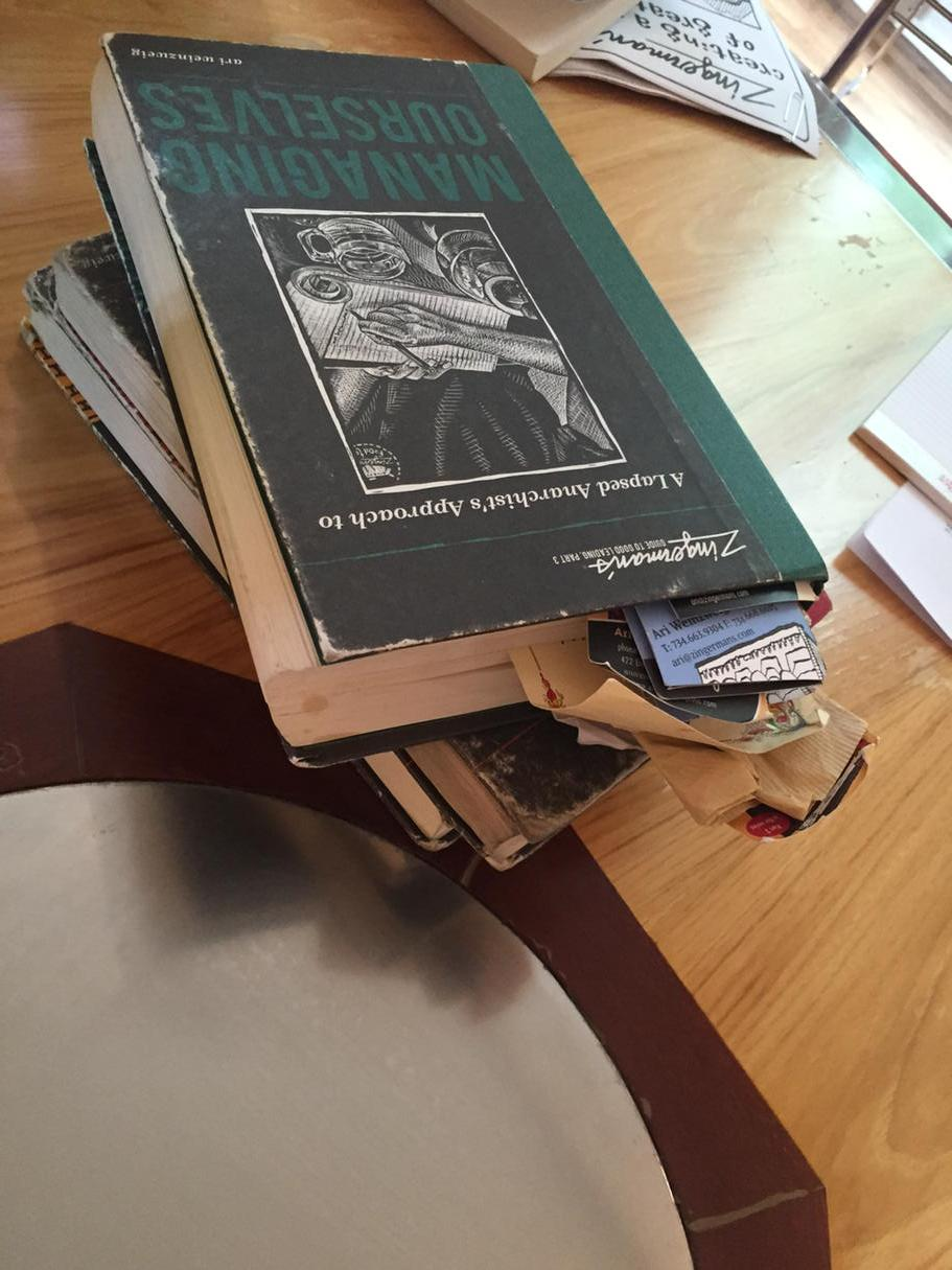 Visioning session for @potlikker today led by Ari of @zingermans This stack is where we start. http://t.co/FuSuoPkffU