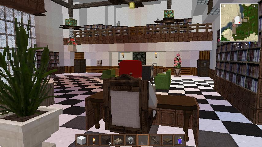 ライブラ執務室作りました http://t.co/GweAOfdUwL