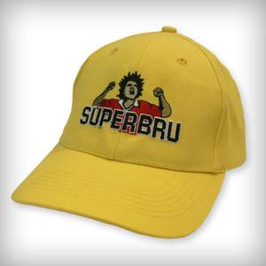 COMPETITION TIME! Win one of our iconic Yellow Caps! Simply RT & follow @SuperBru before tomorrow at midday to enter. http://t.co/iFcEShsH4m